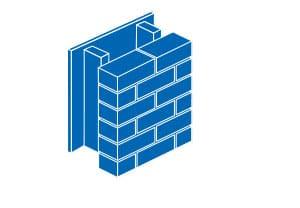 Typical Brick Veneer Wall